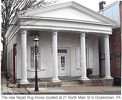 The Greek Revival Building - 21 North Main Street.