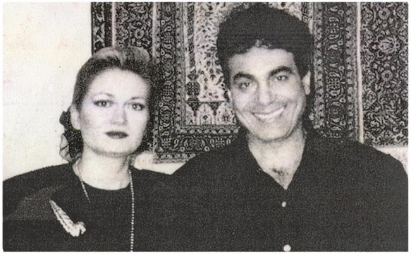 Theresa and Ali Nejad of Nejad Gallery Oriental Rugs