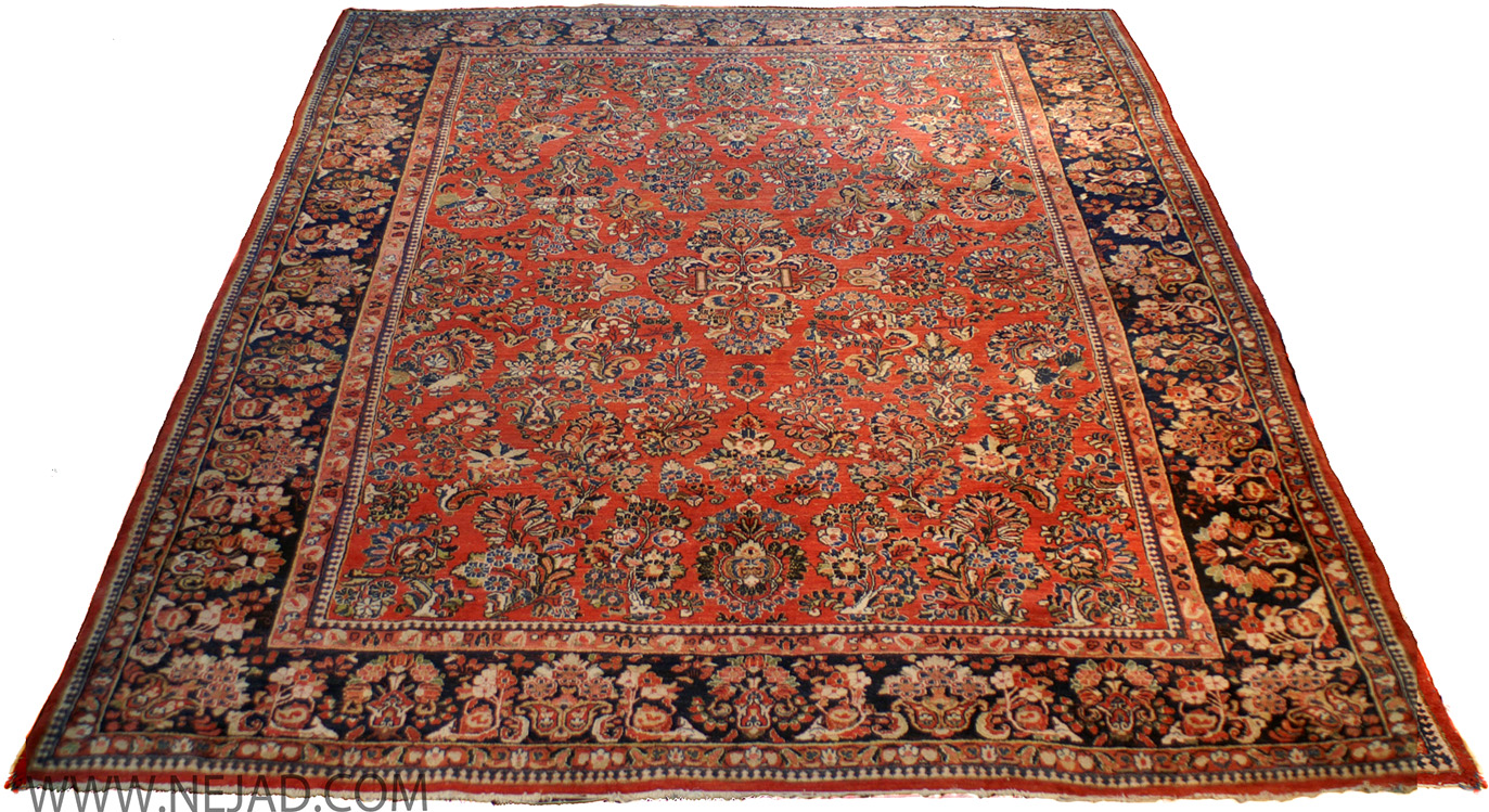 Antique Persian Sarouk Rug - Nejad Rugs #22200