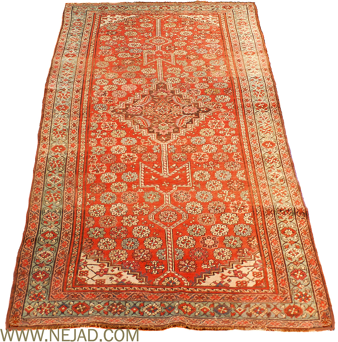 Antique Caucasian Kurdish Rug - Nejad Rugs #24314