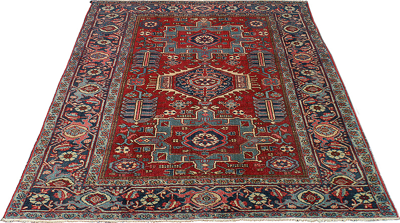 Persian Gharajeh Karaja Antique Rugs