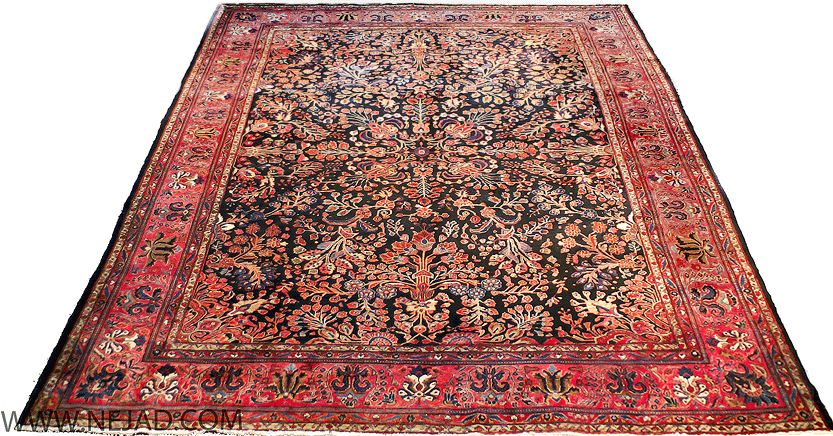 Persian Sarouk Antique Oriental Rugs