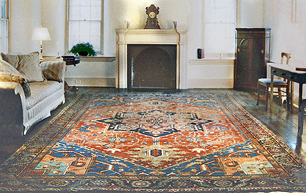 About Persian Serapi Antique Oriental Rugs An Introduction