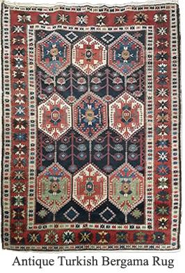 About Turkish Bergama Antique Oriental Rugs