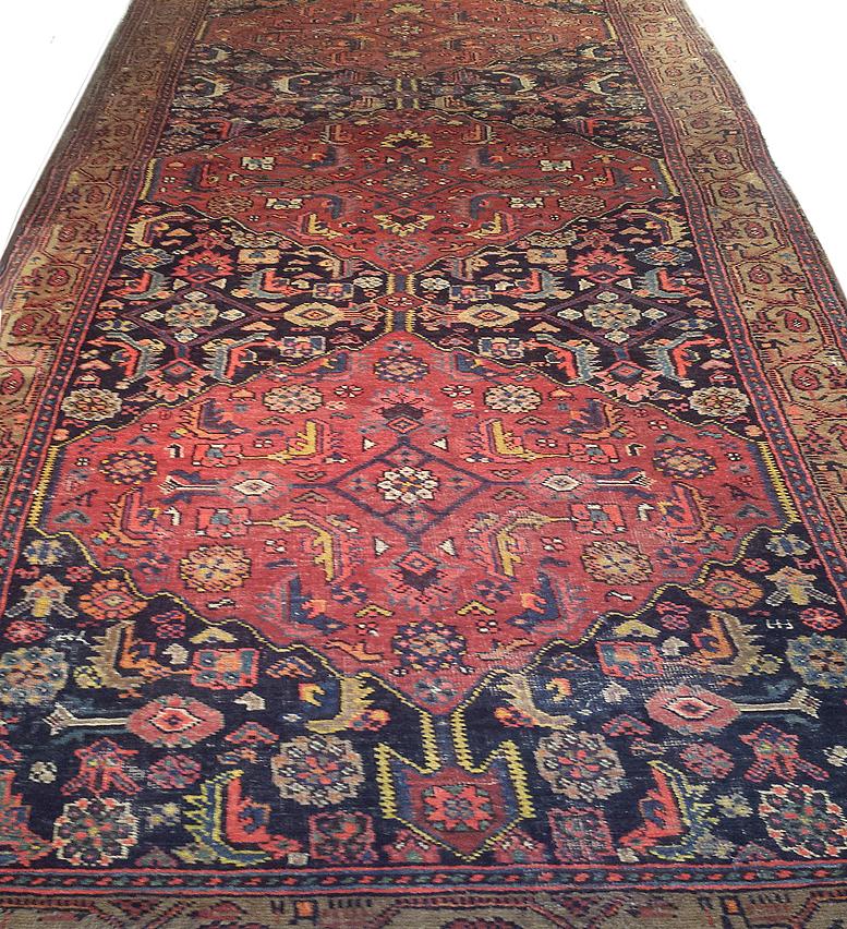 About Persian Bidjar Antique Oriental Rugs