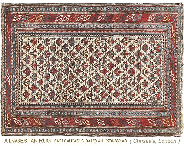 About Caucasian Dagestan Antique Oriental Rugs An