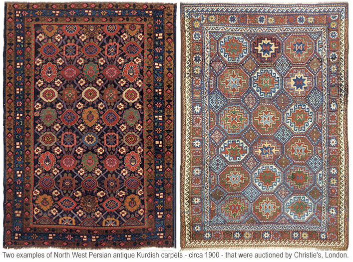 About Persian Kurdish Antique Oriental Rugs An Introduction