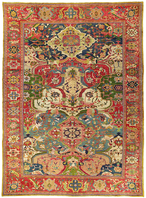 About Ziegler Mahal Antique Persian Rugs An Introduction