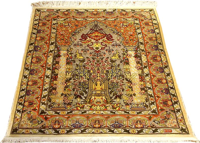Turkish Hereke Antique Oriental Rugs