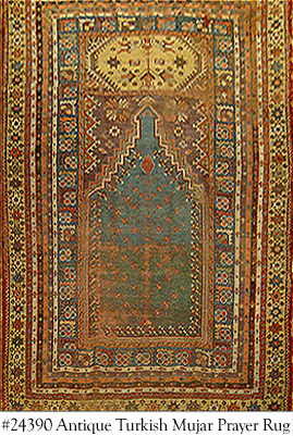 About Antique Mujar Oriental Rugs