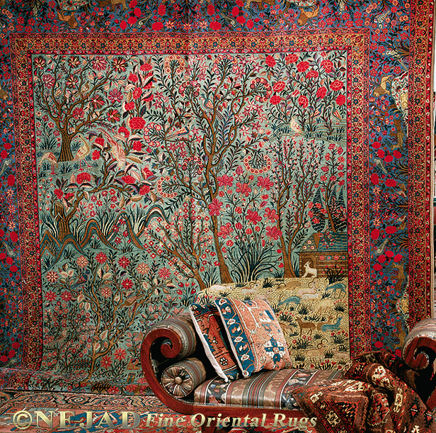 Antique Persian Rugs French Tapestry