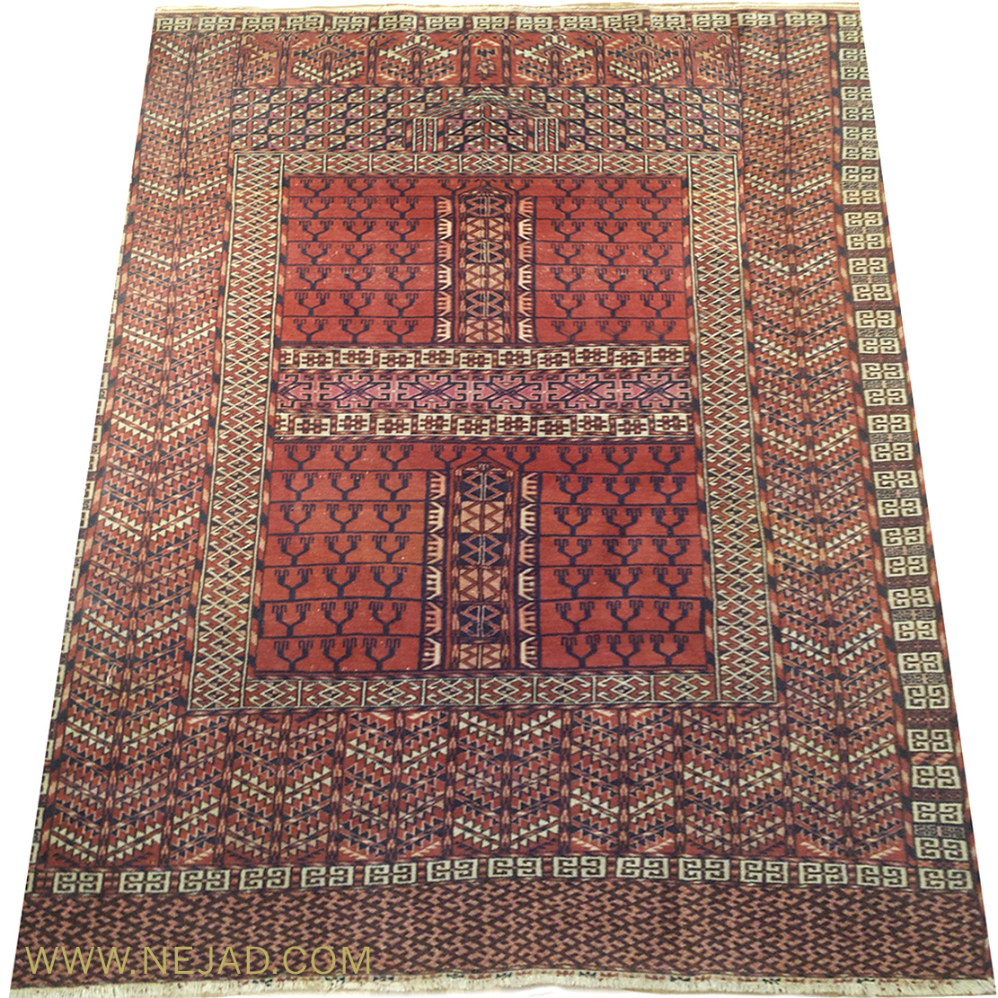 Antique Turkeman Rug - Nejad Rugs #161941