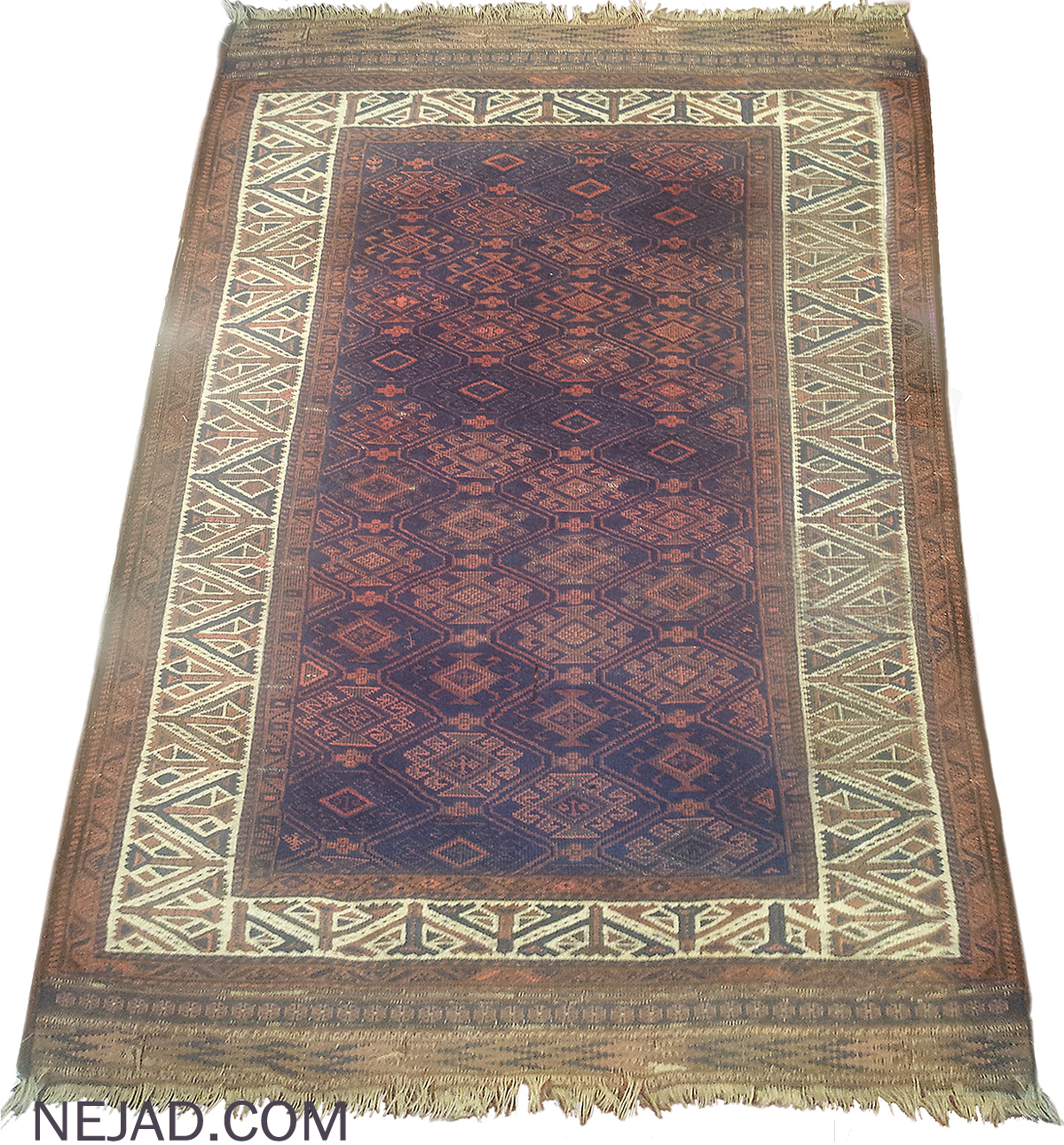 Antique Persian Beluch Rug - Nejad Rugs #100081