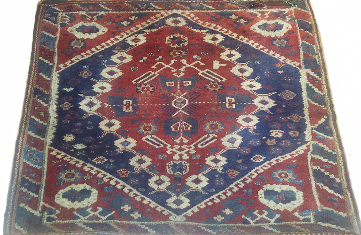 Antique Persian Shirvan Rug - Nejad Rugs #100081