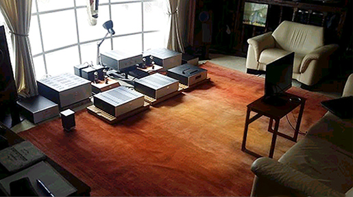 Media, PA Clients Post Photo of Nejad Rug on Website