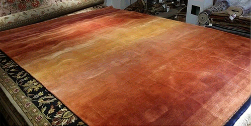 Shades of Nature contemporary rug by Nejad