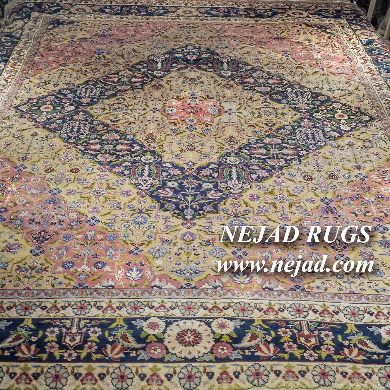 Antique Persian Kerman Rug - Nejad Rugs #987640
