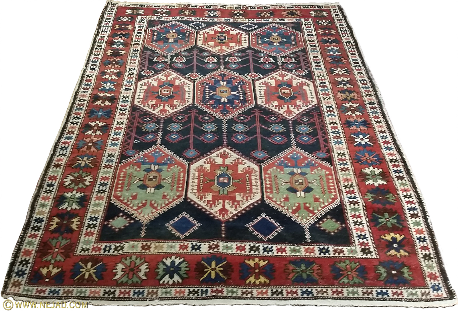 Antique Turkish Bergama Rug - Nejad Rugs