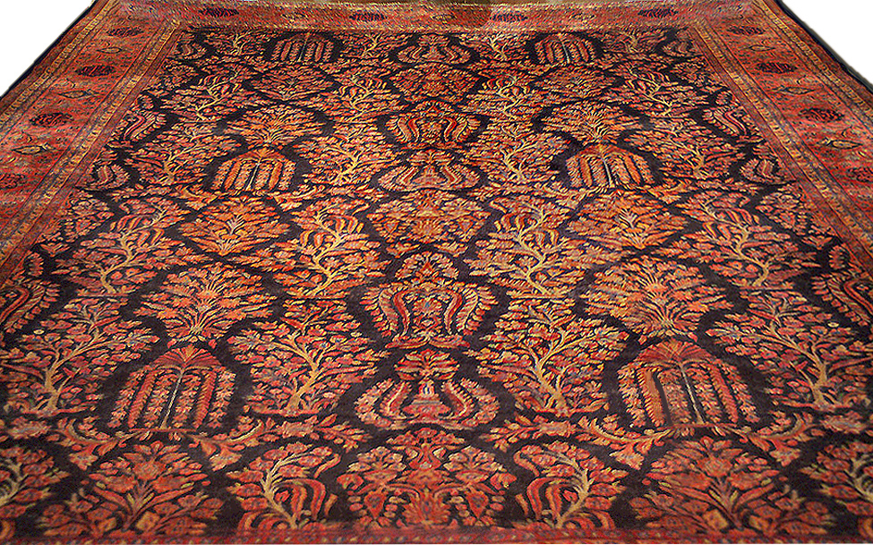 Antique Persian Kashan Rug - Nejad Rugs #223944