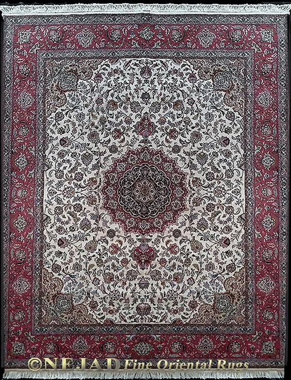 8 4 10 Fine Persian Tabriz Rug