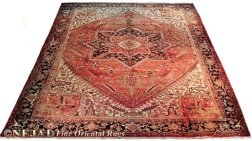 Persian Heriz Antique Oriental Rugs