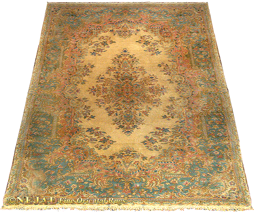 Persian Kerman Antique Oriental Rugs