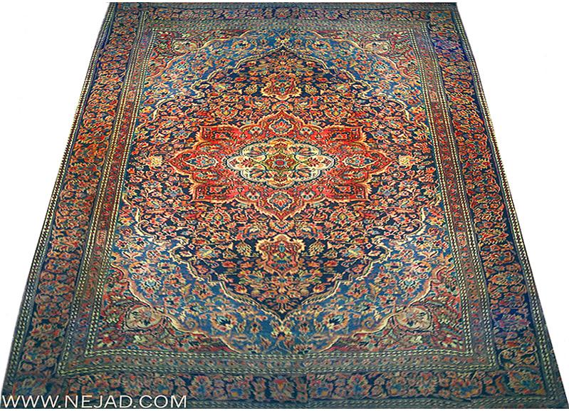Persian Kashan Antique Oriental Rugs