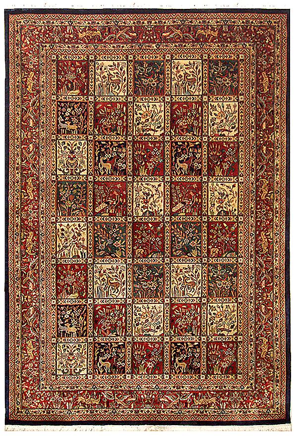 About Persian Bakhtiari Rugs Antique