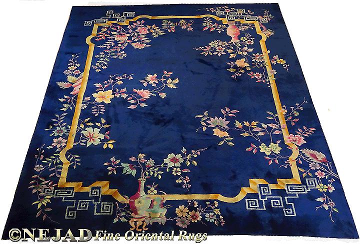 Antique Chinese Art Deco Rug - c. 1920 8' 9