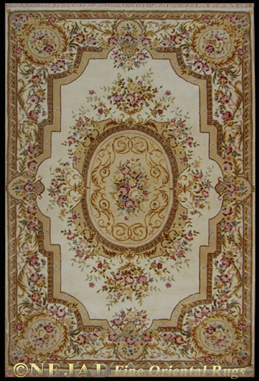SP016 Ivory Aubusson Rug  << Click Rug to Go Back