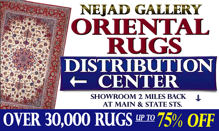 Nejad Rugs Warehouse Outlet & Clearance Center  30,00 Rugs ... at up to 75% OFF