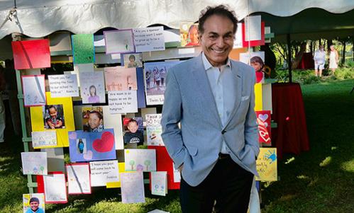 Nejad Sponsors ANA Garden Party to Benefit Native Americans - Furlong PA
