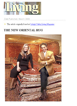 THE NEW ORIENTAL RUG  Lehigh Valley Living Magazine