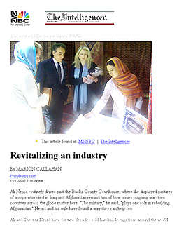 REVITALIZING AN INDUSTRY Article originally found at MSNBC