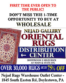 Rug warehouse clearance event -  Buy at wholesale prices!