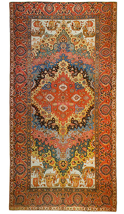 The Fine Art Of Persian Carpet Weaving Samples From The