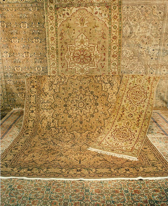 Nejad Gallery of Gold Color Rugs - Nejad Rugs