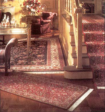 Oriental Rug Interior Design - Decorating with Handmade Wool Area Rugs