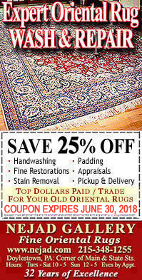 25% Off Oriental Rug Hand Washing - Click to Print Coupon!