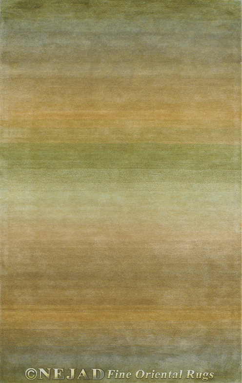 Shades of Nature Sage/Gold Casual Contemporary Rug  << Click Rug to Go Back