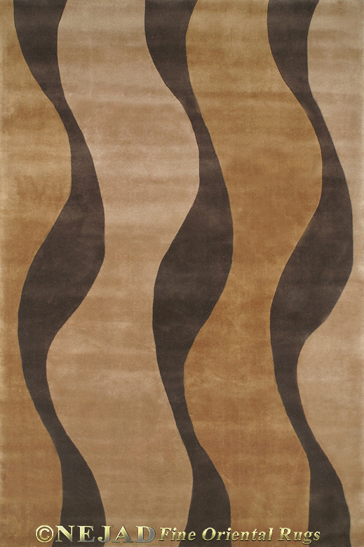 Windsong WT052GOBN - Nejad Casual Contemporary Rug  << Click Rug to Go Back