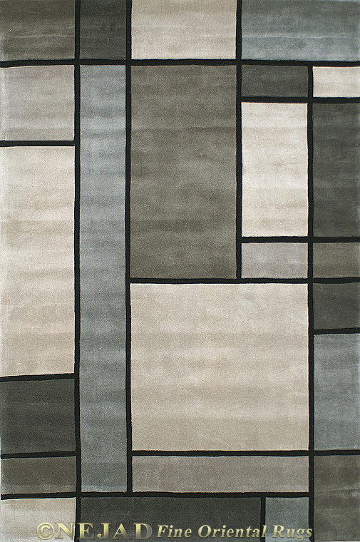 WT003GYSL - Nejad Casual Contemporary Rug  << Click Rug to Go Back