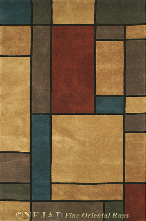 WT003RTH - Nejad Casual Contemporary Rug  << Click Rug to Go Back