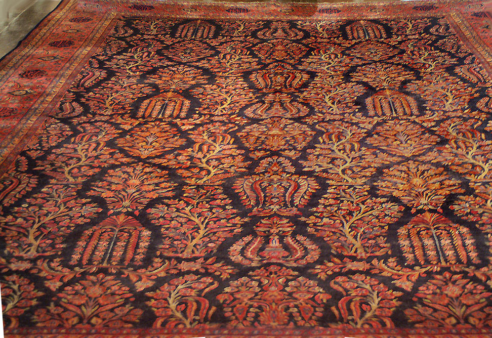 Nejad 12 15 Authentic Persian Kashan Hand Knotted Wool