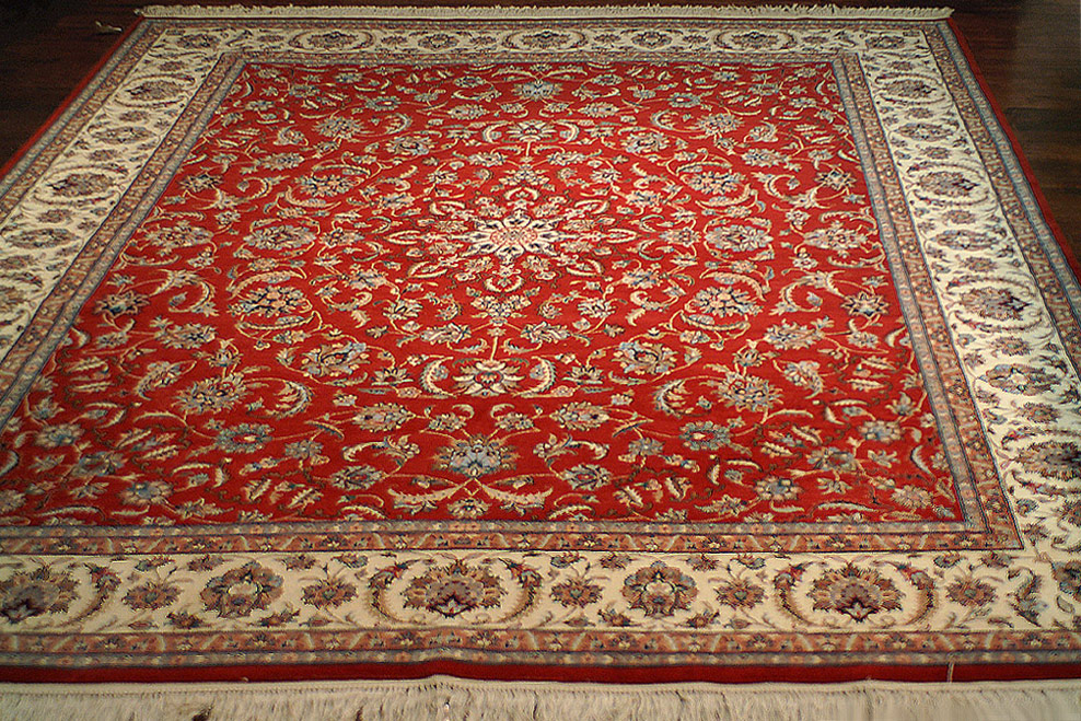Nejad Rugs 8 10 Genuine Persian Kashan Hand Knotted Wool Area Rug