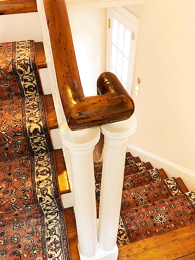 Staircase Runners installed by Nejad - Society Hill, Philadelphia
