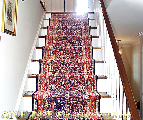 Rug Runners Stairs Installation Rugs And Mats