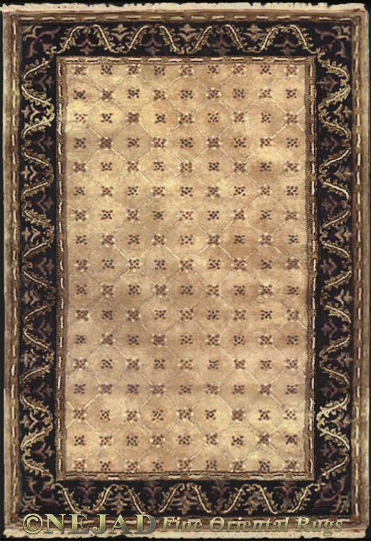 T058GOBK English Lattice rug  << Click Rug to Go Back