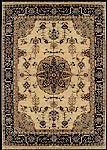 Tabriz rug with Medallion M022GOBK