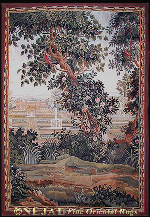 TP010 Tapestry - Blooming Tree  << Click Image to Go Back